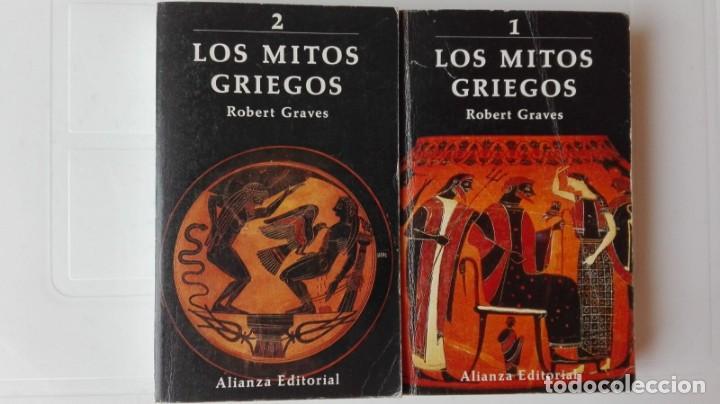 LOS MITOS GRIEGOS. AUTOR: ROBERT GRAVES. 2 TOMOS (Libros antiguos (hasta 1936), raros y curiosos - Historia Antigua)