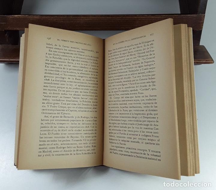 Libros antiguos: EL CUERPO DIPLOMÁTICO ESPAÑOL EN LA GUERRA DE LA INDEPENDENCIA. 5 TOMOS. - Foto 4 - 194667208