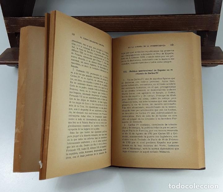 Libros antiguos: EL CUERPO DIPLOMÁTICO ESPAÑOL EN LA GUERRA DE LA INDEPENDENCIA. 5 TOMOS. - Foto 8 - 194667208
