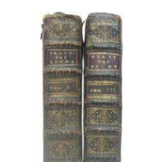 Libros antiguos: 1726 - MODO DE ENSEÑAR Y ESTUDIAR LAS BELLAS LETRAS - FILOLOGÍA, GRIEGO, LATÍN, POESÍA, HOMERO. Lote 194860960