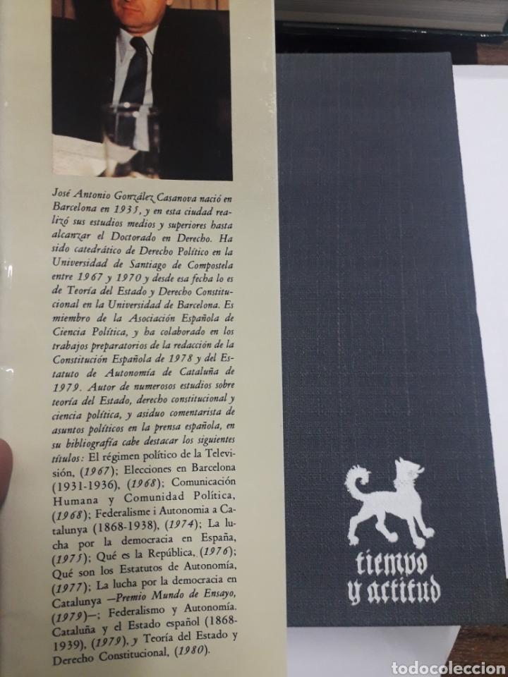 Libros antiguos: Dictadores, Dictaduras. José A. González Casanova - Foto 2 - 194870900