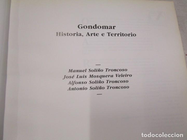 Libros antiguos: GALICIA - GONDOMAR HISTORIA ARTE E TERRITORIO - VV.AA - EDI IR INDO 1994 436PAG+ INFO - Foto 2 - 194874285