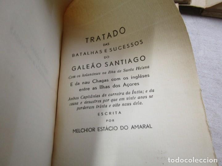 Libros antiguos: HISTORIA TRAGICO MARITIMA, CRONICAS E MEMORIAS - BERNARDO GOMES DE BRITO - PORTO 1937 4 TOMOS +INFO - Foto 3 - 194876260