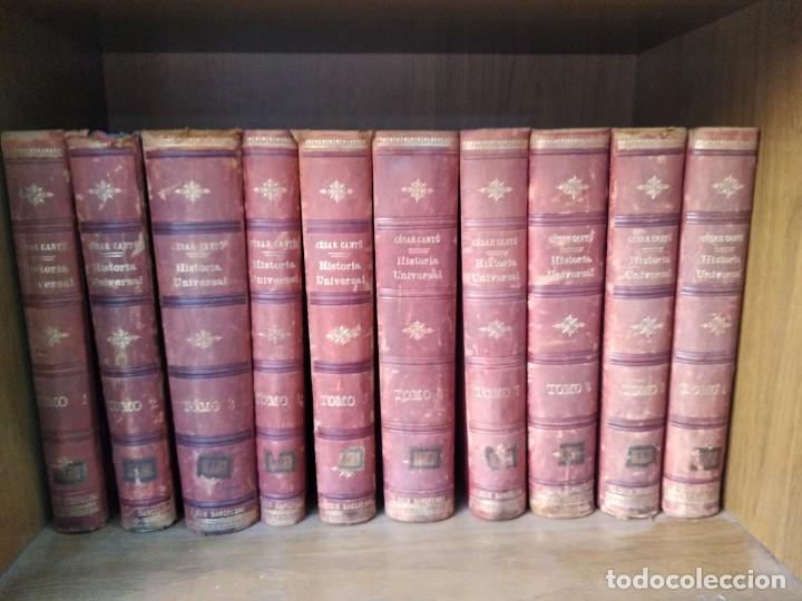 HISTORIA UNIVERSAL 10 TOMOS (Libros antiguos (hasta 1936), raros y curiosos - Historia Antigua)