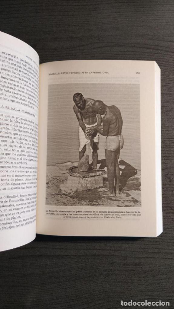 Libros antiguos: Símbolos, artes y creencias de la Prehistoria. A. Leroi Gourhan. Ediciones Istmo. - Foto 3 - 194881463