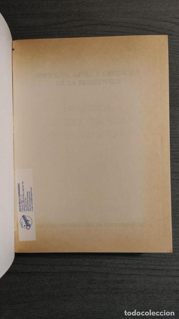 Libros antiguos: Símbolos, artes y creencias de la Prehistoria. A. Leroi Gourhan. Ediciones Istmo. - Foto 5 - 194881463