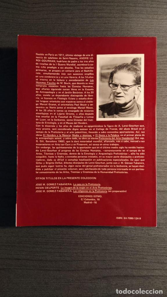 Libros antiguos: Símbolos, artes y creencias de la Prehistoria. A. Leroi Gourhan. Ediciones Istmo. - Foto 13 - 194881463