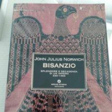 Libros antiguos: BISANZIO, ITALIANO. Lote 194890766
