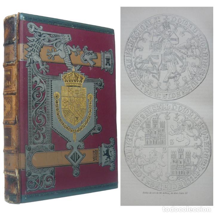 1889. HISTORIA MEDIEVAL DE ESPAÑA - SIGLO XIV - PEDRO IV, PEDRO EL CRUEL, JUAN I, MARTÍN EL HUMANO (Libros antiguos (hasta 1936), raros y curiosos - Historia Antigua)