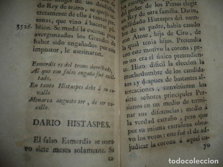 Libros antiguos: COMPENDIO DE LA HISTORIA ANTIGUA O LOS CINCO IMPERIOS ANTES JESU-CHRISTO J.B.DUCHESNE 1792 MADRID - Foto 12 - 194905526