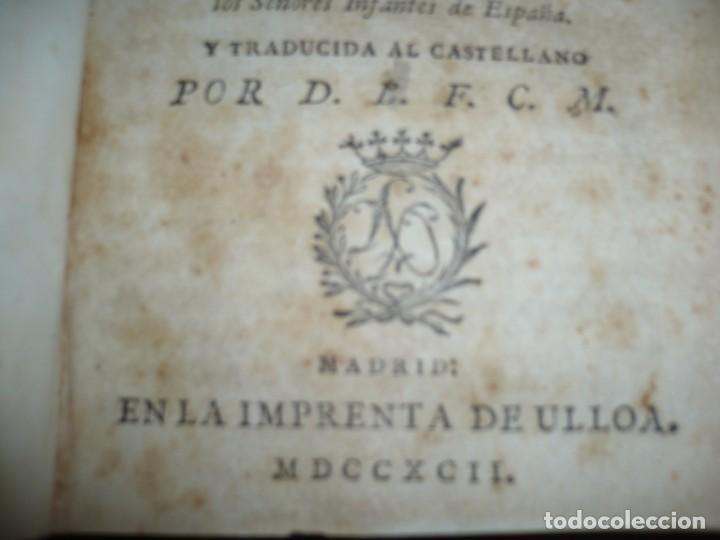 Libros antiguos: COMPENDIO DE LA HISTORIA ANTIGUA O LOS CINCO IMPERIOS ANTES JESU-CHRISTO J.B.DUCHESNE 1792 MADRID - Foto 4 - 194905526