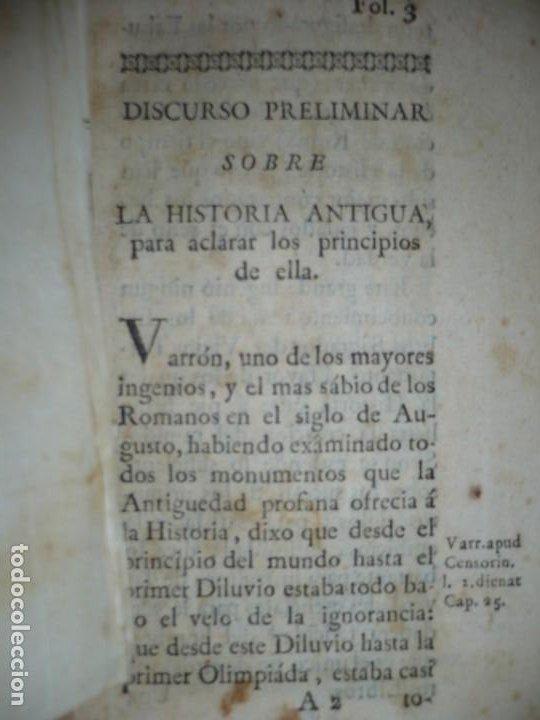 Libros antiguos: COMPENDIO DE LA HISTORIA ANTIGUA O LOS CINCO IMPERIOS ANTES JESU-CHRISTO J.B.DUCHESNE 1792 MADRID - Foto 10 - 194905526