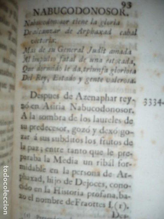 Libros antiguos: COMPENDIO DE LA HISTORIA ANTIGUA O LOS CINCO IMPERIOS ANTES JESU-CHRISTO J.B.DUCHESNE 1792 MADRID - Foto 11 - 194905526