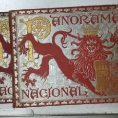 Libros antiguos: PANORAMA NACIONAL. 2 TOMOS, FOTOGRAFÍAS DE ESPAÑA. BARCELONA, 1896 -1898. Lote 194941563
