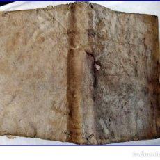 Libros antiguos: AÑO 1661: NOBLEZA. ÓRDENES DE CABALLERÍA: TEMPLARIOS,... PERGAMINO.. Lote 194947750