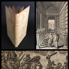Libros antiguos: AÑO 1715: CORNELIO NEPOTE - VIDA DE LOS VARONES ILUSTRES - PERGAMINO - GRECIA - ROMA - HISTORIA.. Lote 195034925