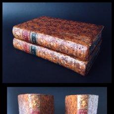 Libros antiguos: AÑO 1774 - ANALES DE TÁCITO - OBRA COMPLETA - 2 TOMOS - LATÍN - PLENA PIEL.. Lote 195053280