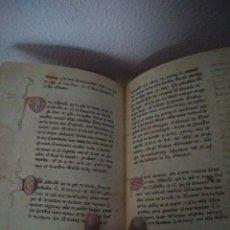 Libros antiguos: FASCIMIL MUY BONITO . Lote 195063978