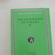 Libros antiguos: STRABO GEOGRAPHY BOOK 4. Lote 195088896