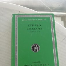 Libros antiguos: STRABO GEOGRAPHY BOOKS 6 Y 7. Lote 195089403
