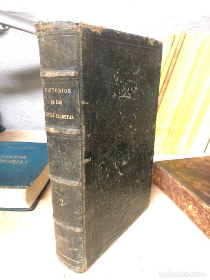 MISTERIOS DE LAS SECTAS SECRETAS O EL FRANC-MASON PROSCRITO DE D.JOSE MARIANO RIERA Y COMAS 1865 (Libros antiguos (hasta 1936), raros y curiosos - Historia Antigua)