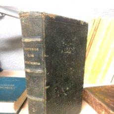 Libros antiguos: MISTERIOS DE LAS SECTAS SECRETAS O EL FRANC-MASON PROSCRITO DE D.JOSE MARIANO RIERA Y COMAS 1865. Lote 195144967