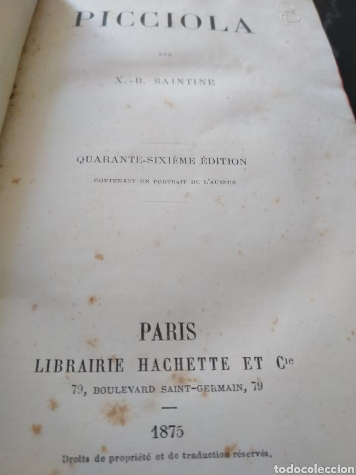 Libros antiguos: Libro antiguo Picciola - Foto 4 - 195159106