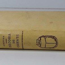 Libros antiguos: HISTORIA DE LA ANTIGÜEDAD. TOMO I. P. BOSCH. S. DE JUAN GILI. BARCELONA. 1927.. Lote 195205183