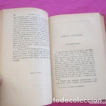 Libros antiguos: : VIDAS OPINIONES DE LOS FILÓSOFOS MÁS ILUSTRES LAERCIO TOMO 1 1914. - Foto 6 - 195231752