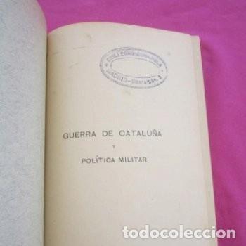 Libros antiguos: GUERRA DE CATALUÑA Y POLITICA MILITAR MANUEL DE MELO CLASICA 1914. - Foto 3 - 195235412