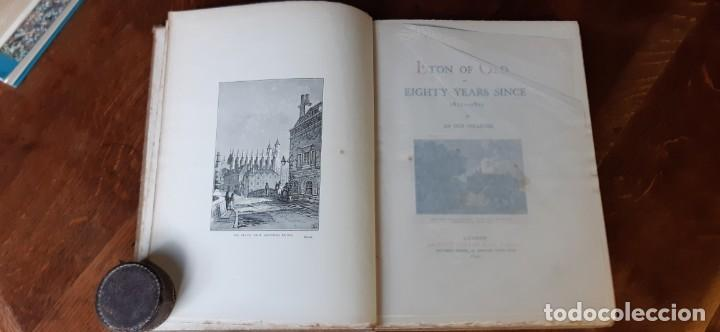 Libros antiguos: ETON OF OLD.or eighty years since 1811-1822 By an old colleger.London 1892 - Foto 2 - 195236291