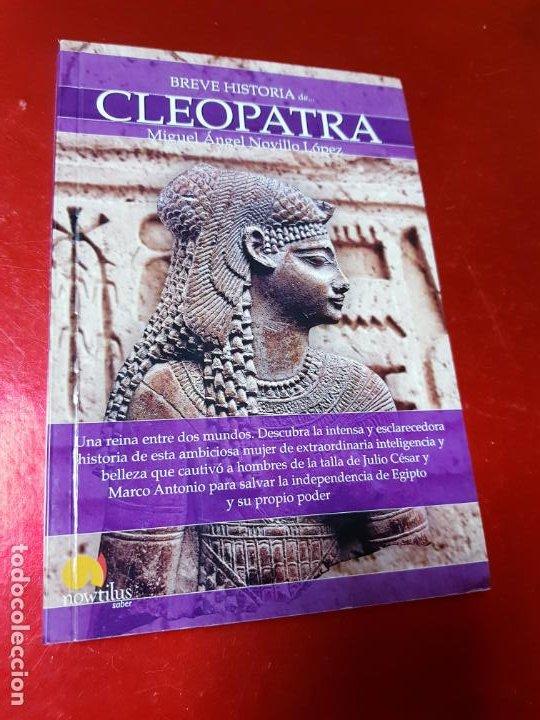 Libros antiguos: LIBRO-BREVE HISTORIA DE CLEOPATRA-MIGUEL ANGEL NOVILLO LÓPEZ-EDICIONES NOWTILUS S.L.-COMO NUEVO - Foto 12 - 195243108