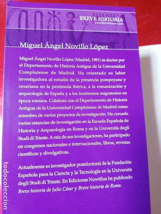 Libros antiguos: LIBRO-BREVE HISTORIA DE CLEOPATRA-MIGUEL ANGEL NOVILLO LÓPEZ-EDICIONES NOWTILUS S.L.-COMO NUEVO - Foto 13 - 195243108