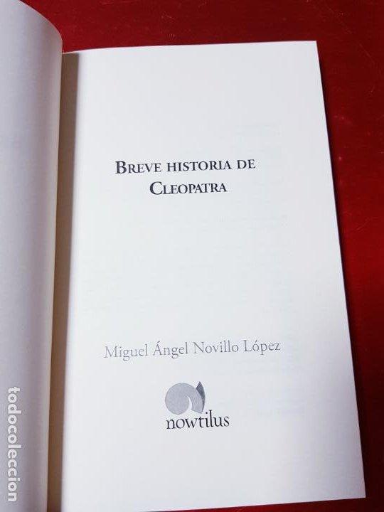 Libros antiguos: LIBRO-BREVE HISTORIA DE CLEOPATRA-MIGUEL ANGEL NOVILLO LÓPEZ-EDICIONES NOWTILUS S.L.-COMO NUEVO - Foto 8 - 195243108