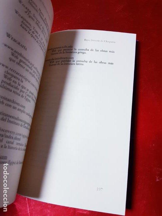 Libros antiguos: LIBRO-BREVE HISTORIA DE CLEOPATRA-MIGUEL ANGEL NOVILLO LÓPEZ-EDICIONES NOWTILUS S.L.-COMO NUEVO - Foto 11 - 195243108