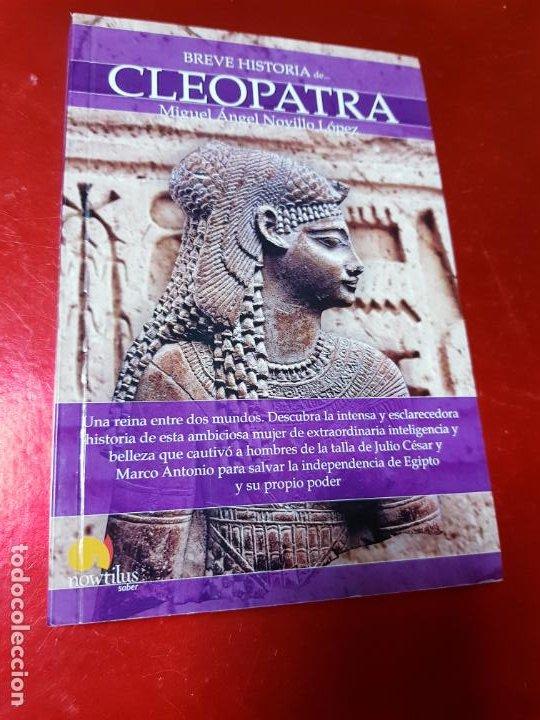 Libros antiguos: LIBRO-BREVE HISTORIA DE CLEOPATRA-MIGUEL ANGEL NOVILLO LÓPEZ-EDICIONES NOWTILUS S.L.-COMO NUEVO - Foto 14 - 195243108