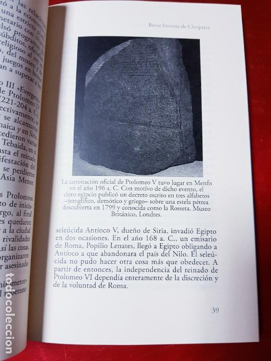 Libros antiguos: LIBRO-BREVE HISTORIA DE CLEOPATRA-MIGUEL ANGEL NOVILLO LÓPEZ-EDICIONES NOWTILUS S.L.-COMO NUEVO - Foto 15 - 195243108
