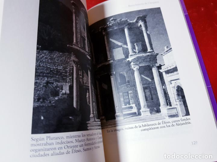 Libros antiguos: LIBRO-BREVE HISTORIA DE CLEOPATRA-MIGUEL ANGEL NOVILLO LÓPEZ-EDICIONES NOWTILUS S.L.-COMO NUEVO - Foto 16 - 195243108
