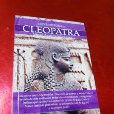 Libros antiguos: LIBRO-BREVE HISTORIA DE CLEOPATRA-MIGUEL ANGEL NOVILLO LÓPEZ-EDICIONES NOWTILUS S.L.-COMO NUEVO. Lote 195243108