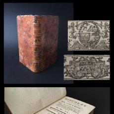 Libros antiguos: AÑO 1769 - LOS DISCURSOS DE CICERÓN - ROMA - ORATORIA - LATÍN - 251 AÑOS.. Lote 195247963