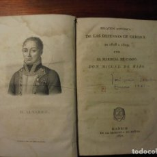 Libros antiguos: GUERRA INDEPENDENCIA. DEFENSAS GERONA. 1820. Lote 195277410