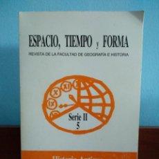 Libros antiguos: ESPACIO, TIEMPO Y FORMA : SERIE II NÚMERO 5 : HISTORIA ANTIGUA - TERMALISMO. Lote 195289968