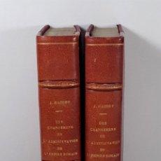 Libros antiguos: J. NAUDET. TOMOS I Y II. LIBR. TREUTELL ET WURTZ. PARÍS. 1817.. Lote 195308083