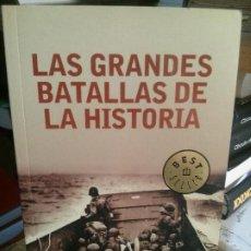 Libros antiguos: LAS GRANDES BATALLAS DE LA HISTORIA, DEBOLSILLO.. Lote 195310002