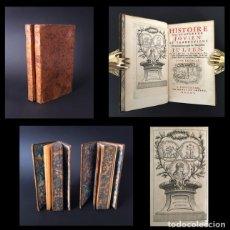 Libros antiguos: AÑO 1750 - HISTORIA DEL EMPERADOR JOVIANO Y OBRAS DEL EMPERADOR JULIANO - 2 TOMOS - OBRA COMPLETA.. Lote 195346057