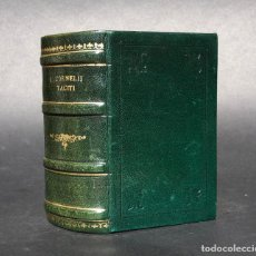 Libros antiguos: XVI - C. CORNELII TACITI - HISTORIA DE ROMA - AGRICOLA - AUGUSTO - NERÓN - GERMÁNICO . Lote 195353717