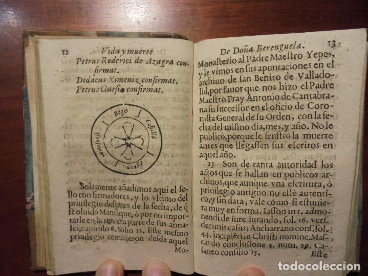 Libros antiguos: HISTORIA DE LA REINA DOÑA BERENGUELA. 1665. LUPIAN Y ZAPATA - Foto 4 - 195368545