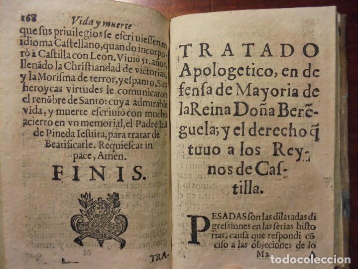 Libros antiguos: HISTORIA DE LA REINA DOÑA BERENGUELA. 1665. LUPIAN Y ZAPATA - Foto 9 - 195368545