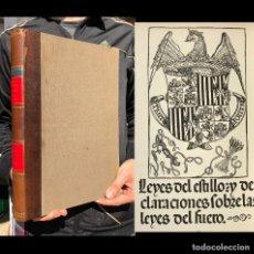 Libros antiguos: EL ARTE TIPOGRAFICO EN ESPAÑA DURANTE EL SIGLO XV. BURGOS Y GUADALAJARA - BIBLIOFILIA. Lote 195375543