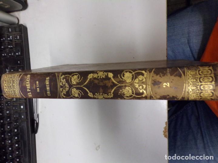 Libros antiguos: El palacio de los crimenes tomo segundo 1869 tercera edición - Foto 2 - 195406557